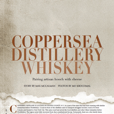Coppersea Distillery Whiskey