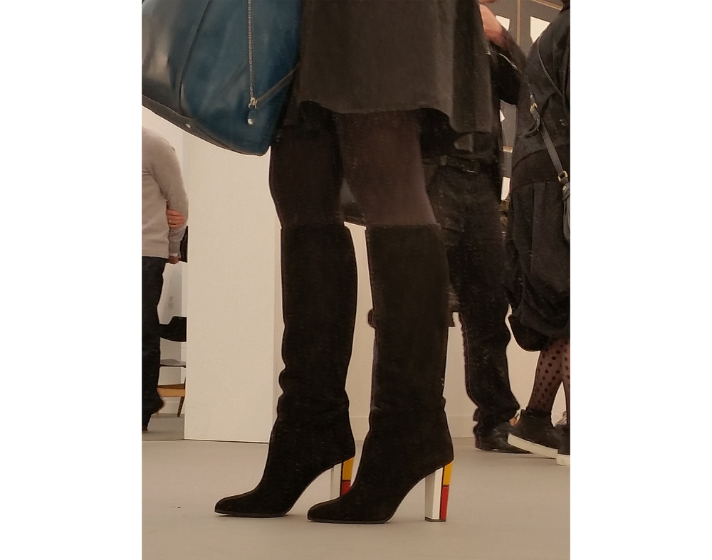 Mondrian boots at Frieze.jpg
