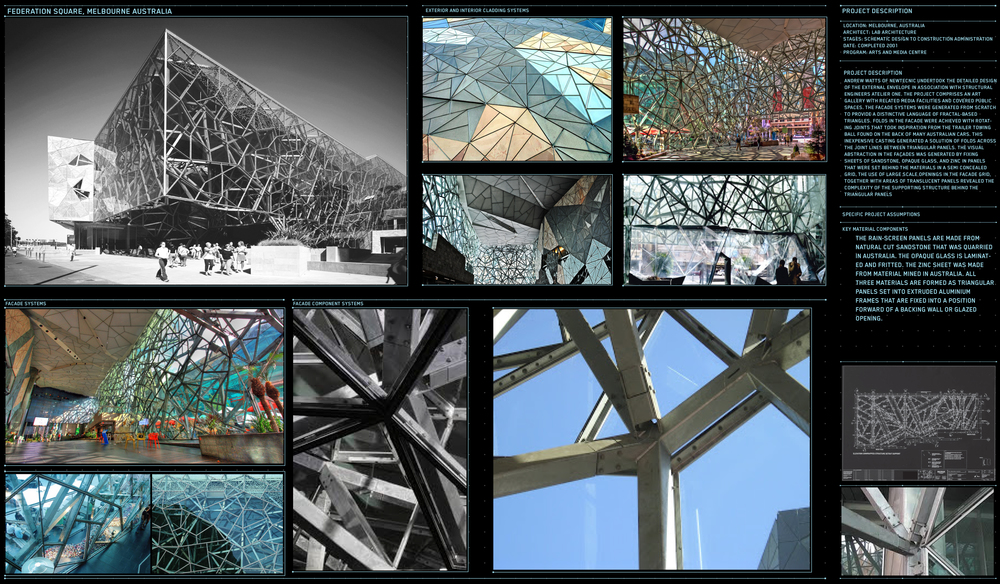 Project Name: Federation Square Location: Melbourne, Australia Client:  LAB Architecture Date: 2006