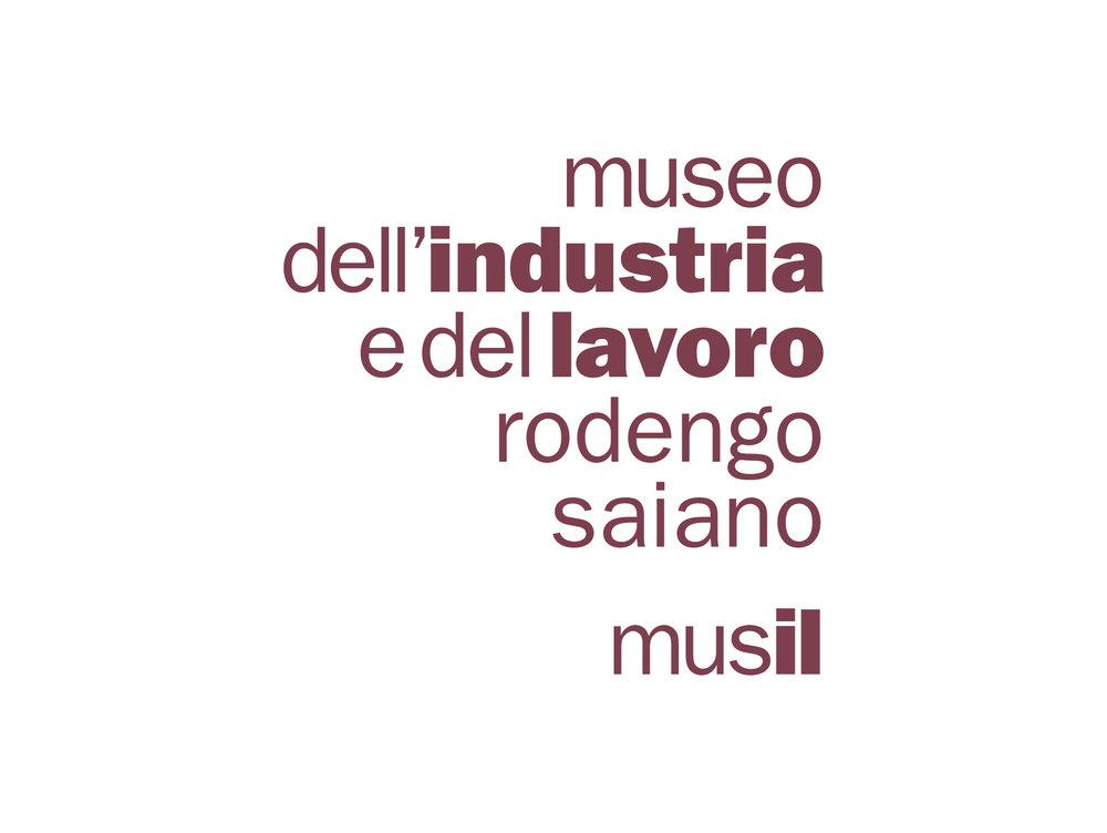 declinazione Logotipo Museo/Magazzino di Rodengo Saiano.