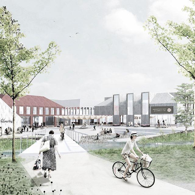 «Liv i Øra»: i dag på Kyrksæterøra har @lalatoyen i samarbeid med @formlosarchitecture og Kåmmån, presentert en verktøykasse for å skape mer liv i sentrum! #kyrksæterøra #parallelloppdrag #stedsutvikling