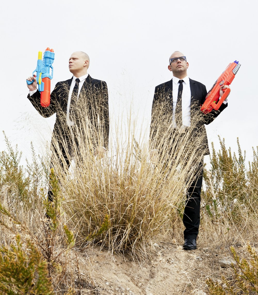 PRINCIPALS. Manuel Collado (Right) and Nacho Martín (Left). Portrait by Ditto Projects
