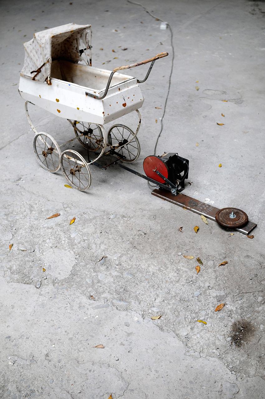 automated pram, 2006