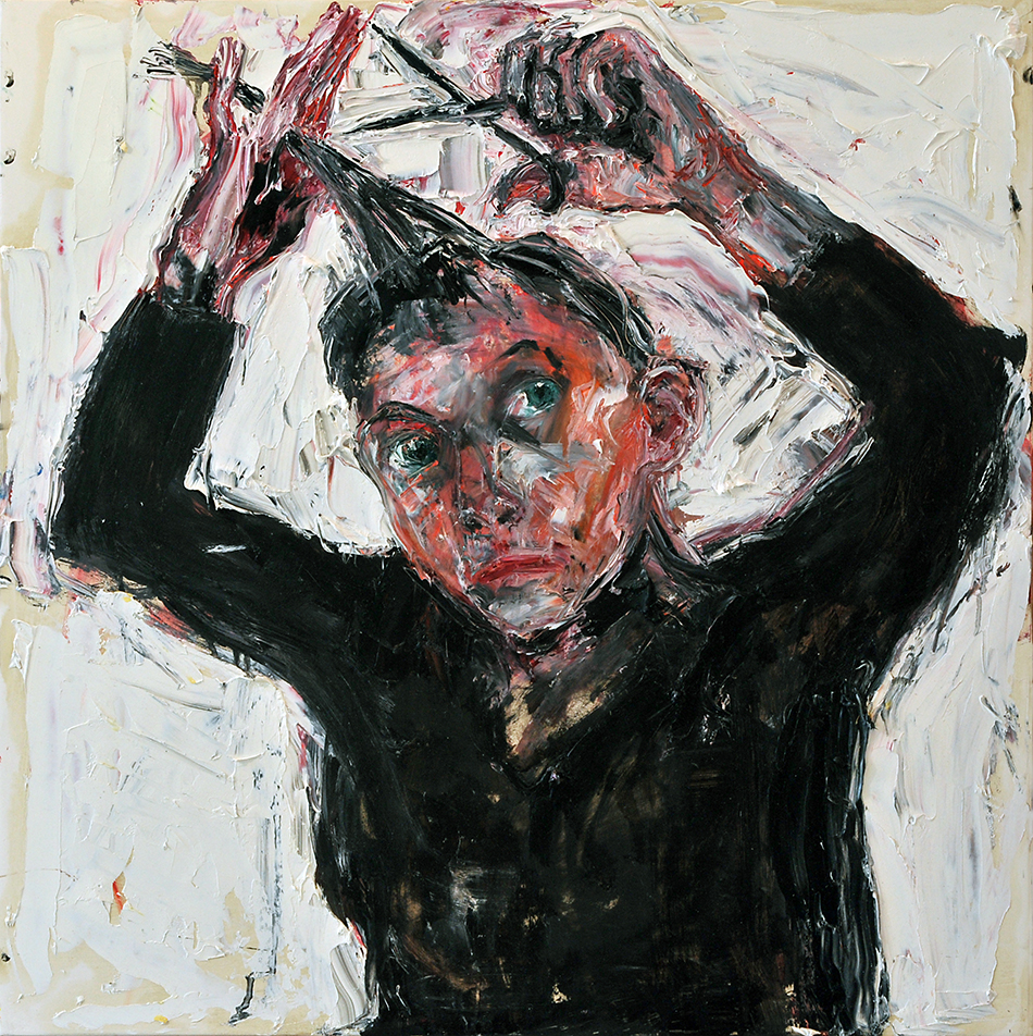Cutting my Hair 61x61