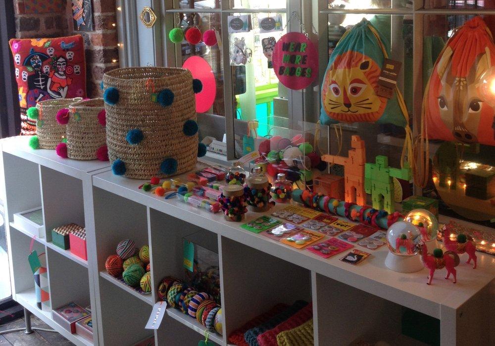 Popsicle shop Lewes
