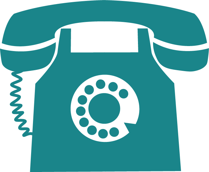 Phone symbol on Business Coaching Sussex site