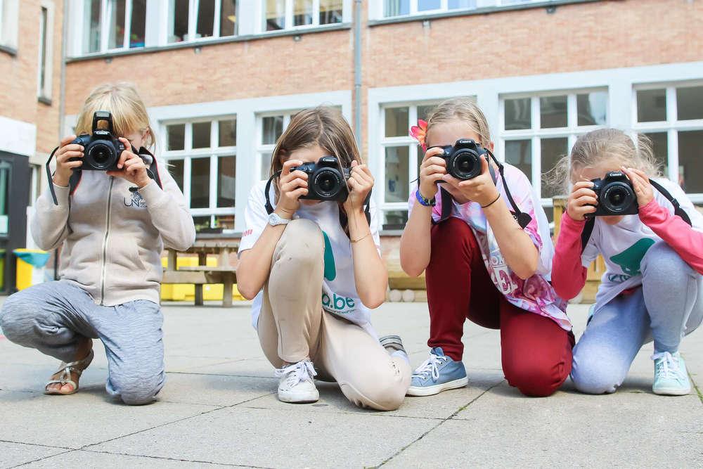 Fotografie voor kinderen.