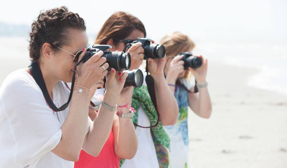 Workshops fotografie voor volwassenen.
