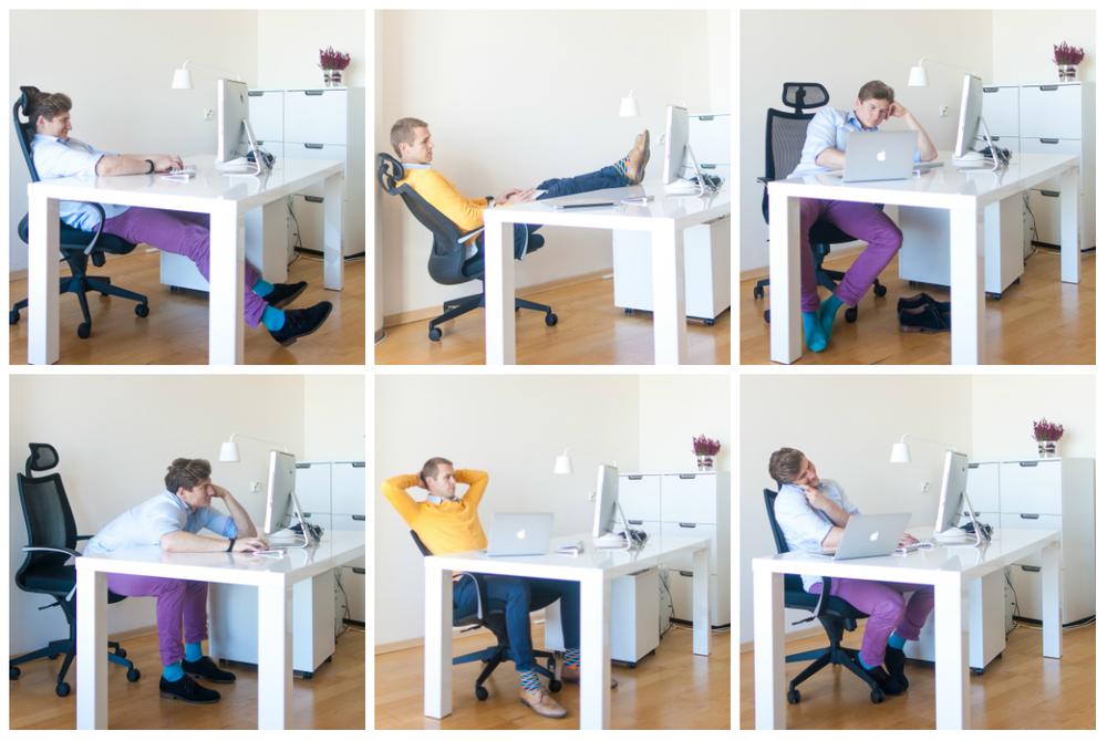 sage istumisasendi varieerumine ja liikumine on tervislikum kui mistahes sundasendis viibimine