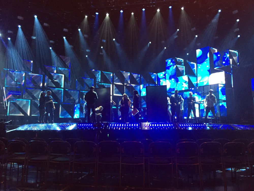 Rehearsals before the big show.