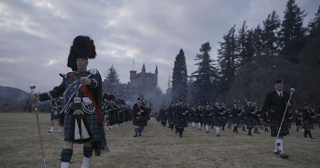 The Ghillies Ball and a few hundred pipers #lovescotland
