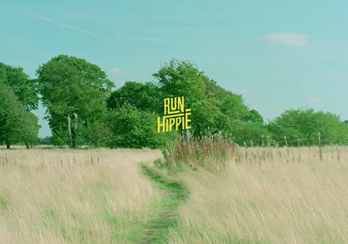 Run Hippie Branding