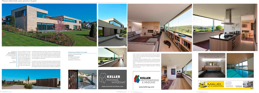 ARCHITECTURE EUROPEENNE - 10/2015