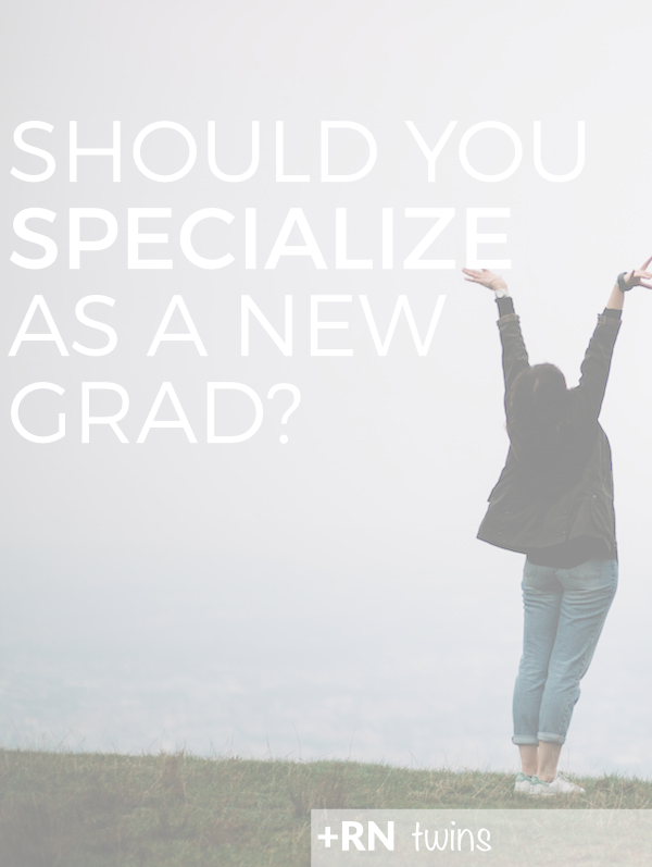 Congrats RN! You've graduated from nursing school and the job hunt has begun! Should you take the Med-Surg job or the one of your dreams? Read on to learn why you should pursue your dream job!