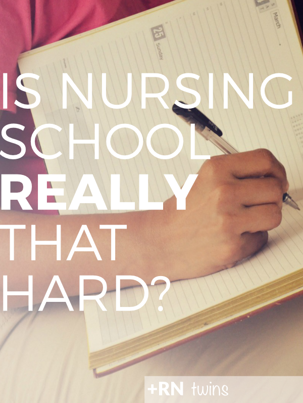 Are you a new #nursingstudentwondering what to expect in nursing school? Is it really as hard as everyone says it is? Click to check out what makes#nursingschool a challenge