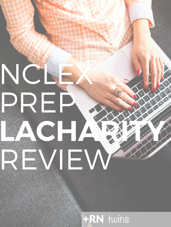 The LaCharity workbook is a MUST-HAVE for #NCLEX success!  Click through to read how we used this workbook to improve our critical thinking and test taking skills!