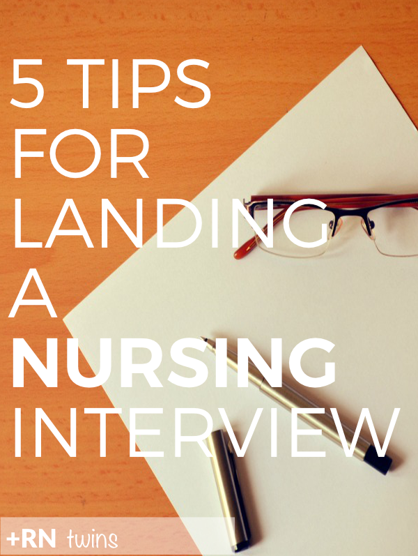 Are you tired of endlessly applying to nursing jobs and never hearing back? Click through to read our 5 surefire ways to land a nursing interview!