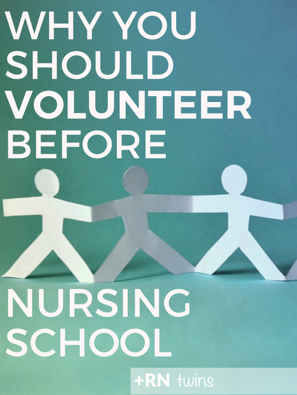 Are you thinking of applying to nursing school? Click through to read why you should definitely shadow a nurse or volunteer in a healthcare setting before you turn in your application!