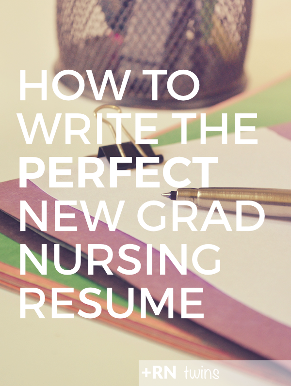 click through to find out how to write the perfect new grad nursing resume and stand - New Grad Rn Resume