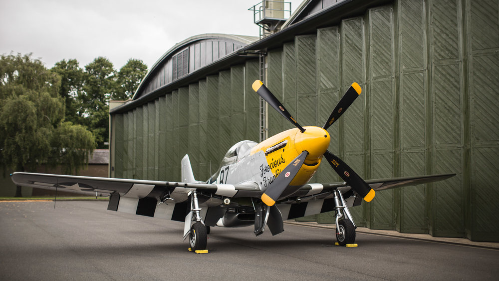 P-51D 'Ferocious Frankie'(sold) -