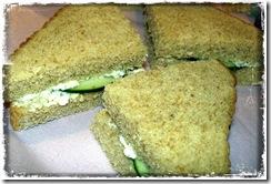cucumber sandwhich