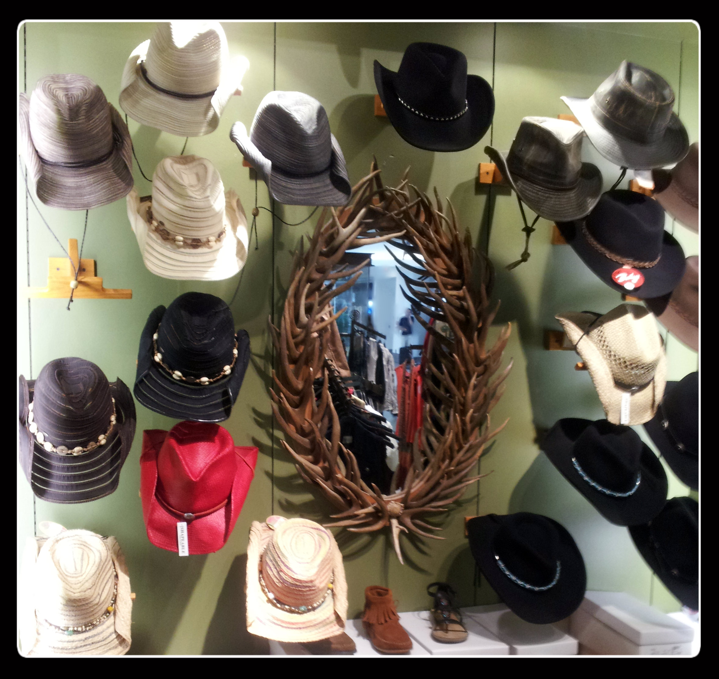 Let's add a hat  - I have to say I really liked some of these.