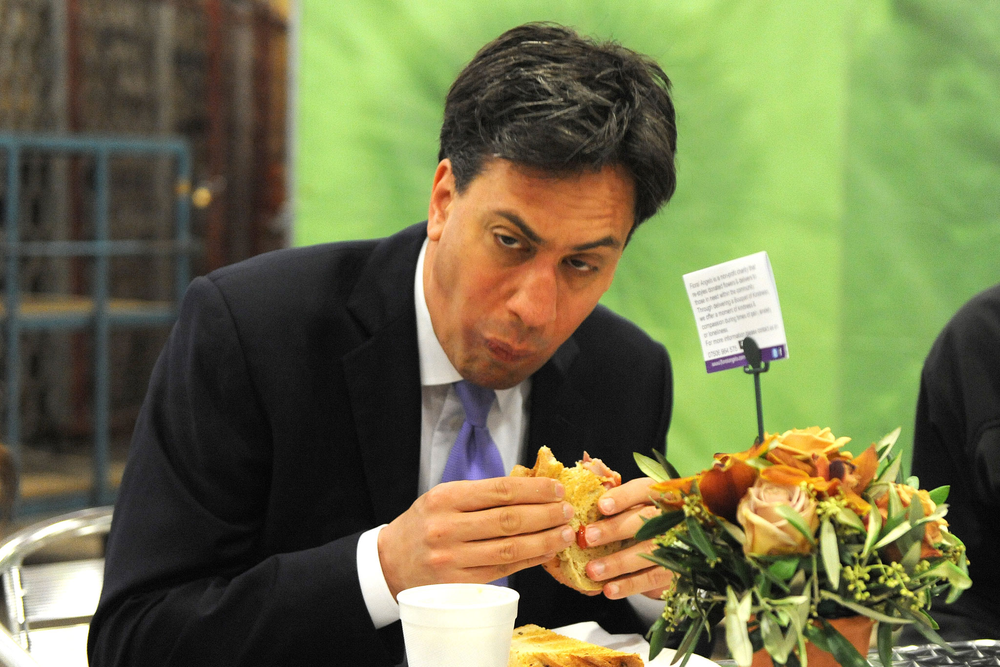 Ed Miliband endorses tip number one... eat a good breakfast.