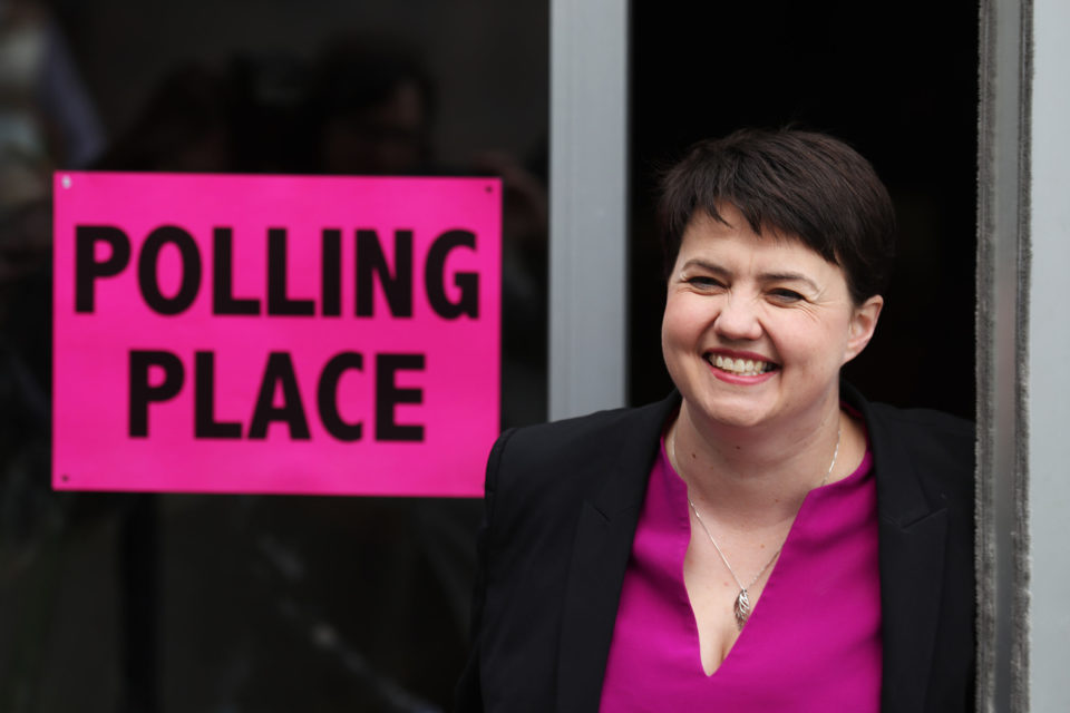 Ruth Davidson, rising star, MSP and leader of the Scottish Conservatives