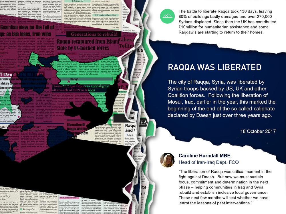 Caroline Hurndall Raqqa liberation