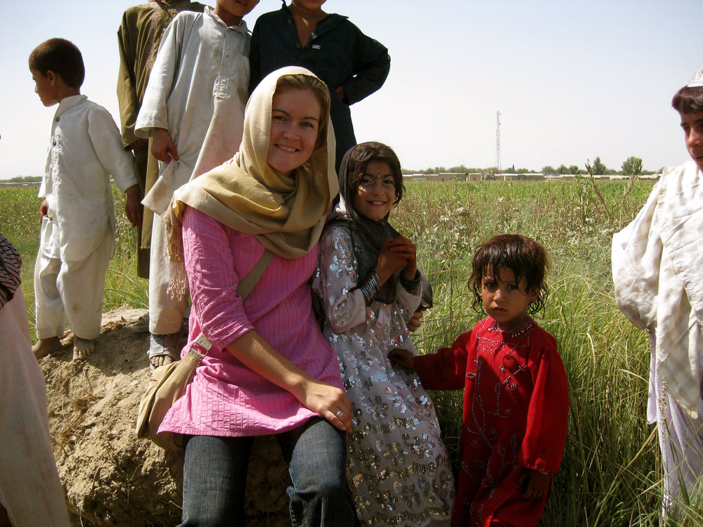 Caroline Hurndall MBE, Head of Iran-Iraq Dept. Foreign and Commonwealth Office