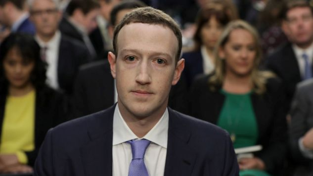 Mark Zuckerberg at Congress