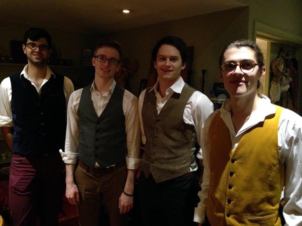 Queensgate Quartet @ Jakobs Restaurant.JPG