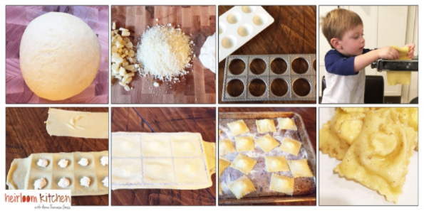 Cheese Ravioli: Step By Step