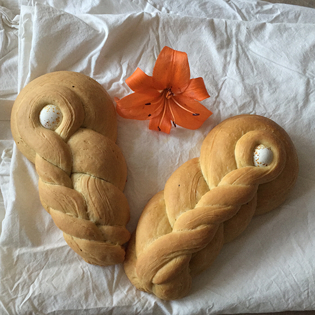traditional calabrese easter bread