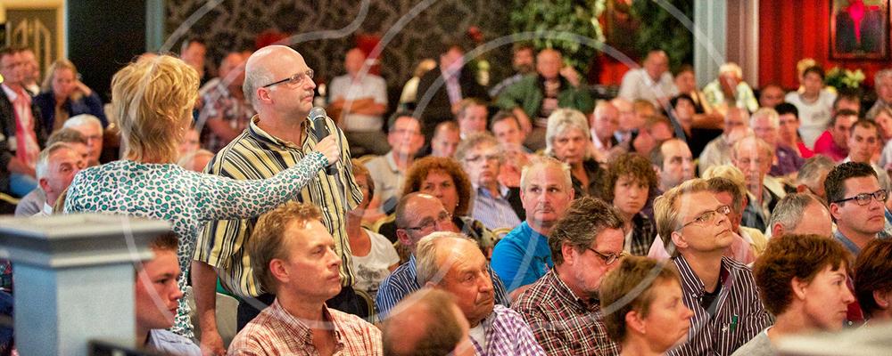 Informatie-avonden voor projecten van Rijkswaterstaat, interactieve wijkbijeenkomsten en kick-offs