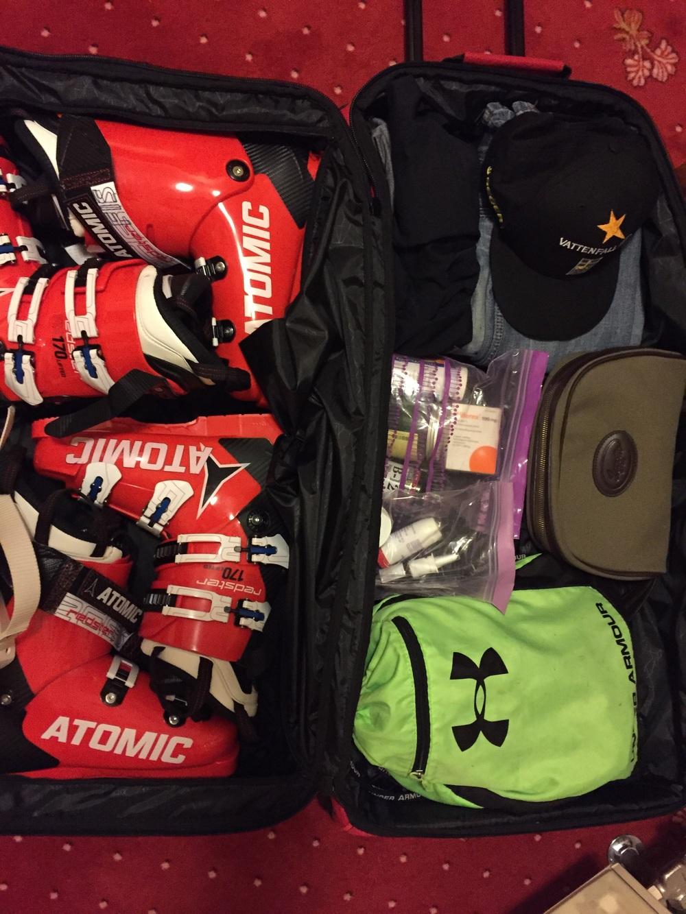 """Skön """"lätt"""" packning hem."""