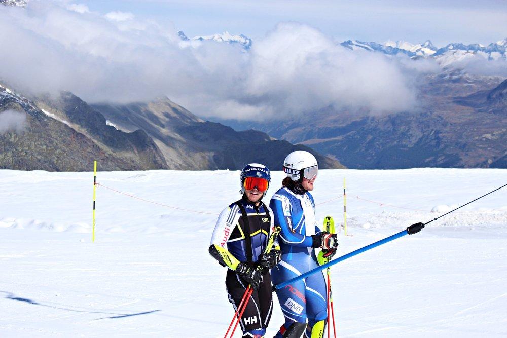Mattias och Henrik Röa från Norge.