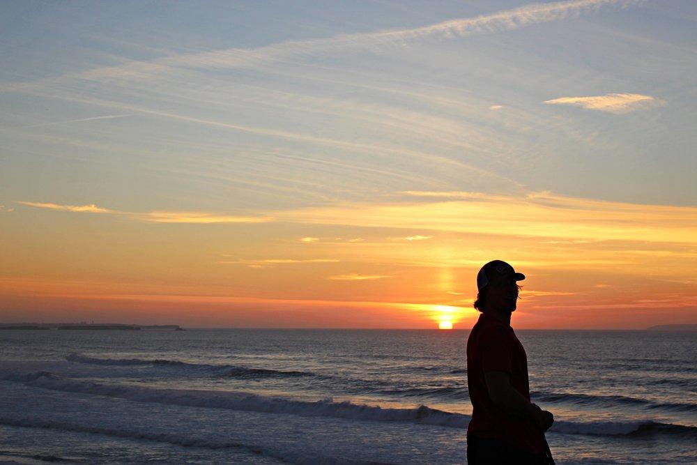 Riktigt fina solnedgångar