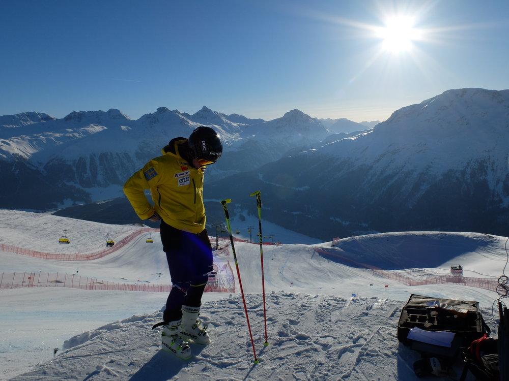 VM i St. Moritz var en häfitg upplevelse och vi hade grym träning
