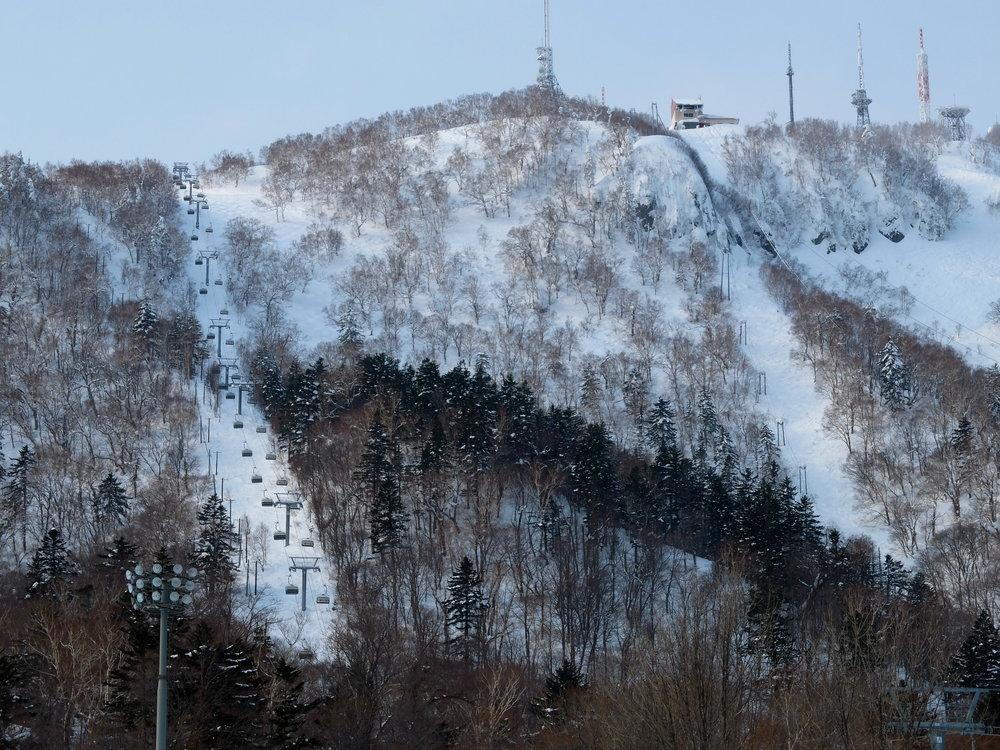 Första stället vi var på, Sapporo Teine