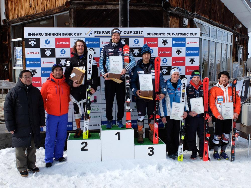 Resan avrundades med en 2a och 3e plats i slalom