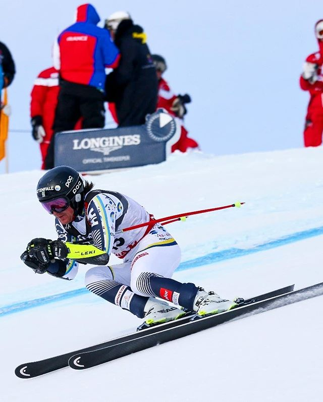 What a fun day to race on the home mountain in front of family and friends! Happy to finish 25 in my first World Champs Super-g and great team effort by @alex_koell @felixmonsen and @ollesundin 😋🤗⛷ Slope was so good so really thanks for everybody who put in so much work to prepare for these races🤗 Now some days of training before the gs race next week.  #teamtagehus #tagehus 📷: @bildbyran #skiteamswedenalpine #åre2019