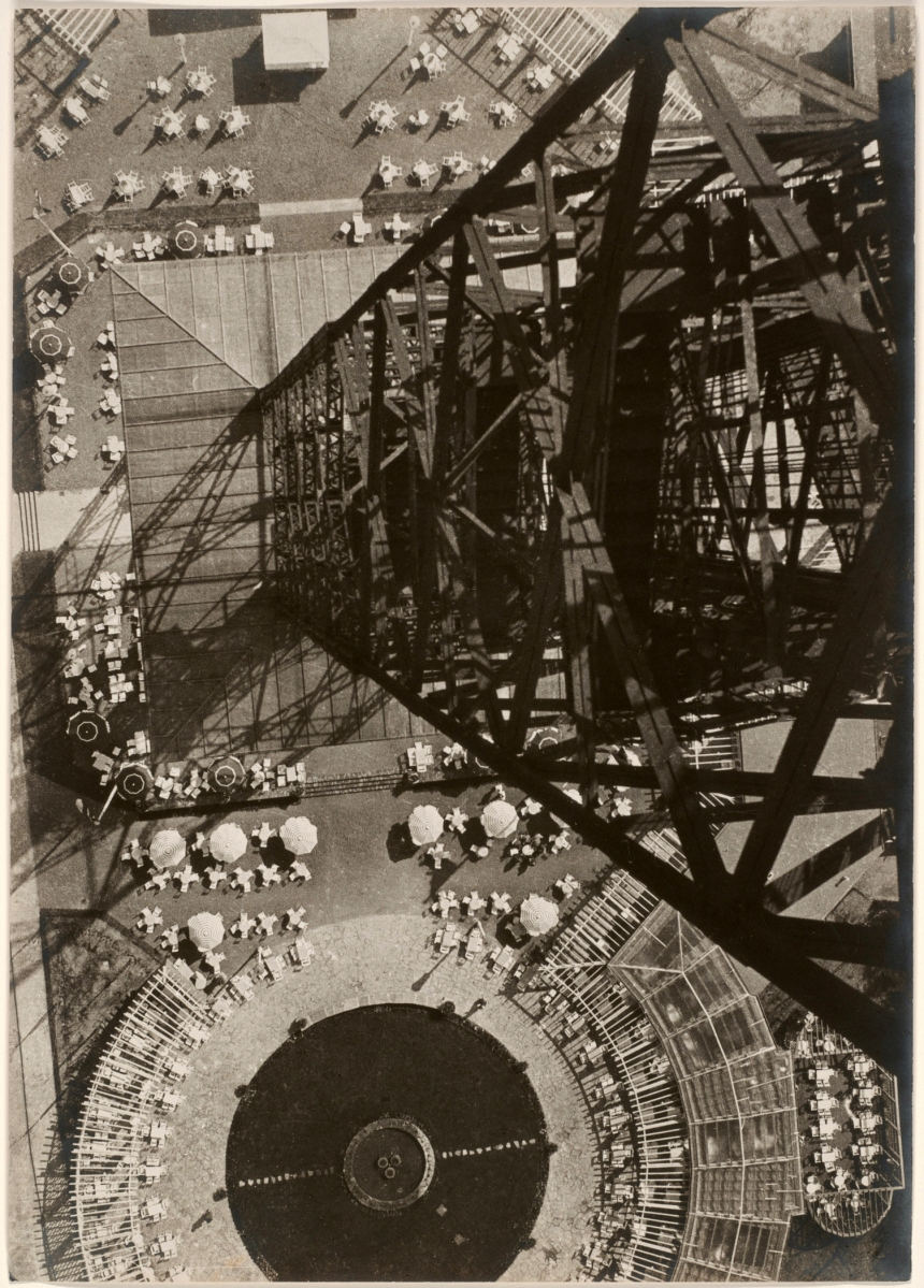 """László Moholy-Nagy, """"Berlin Radio Tower,"""" 1928-29,Gelatin silver print"""