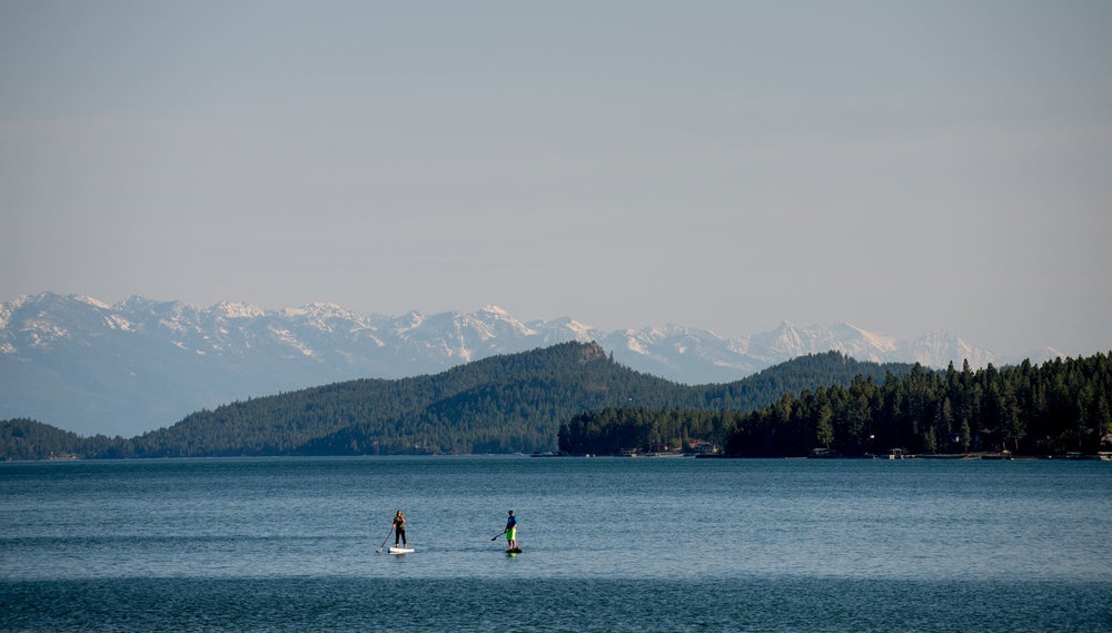 Parks are why we live here    Flathead Lake
