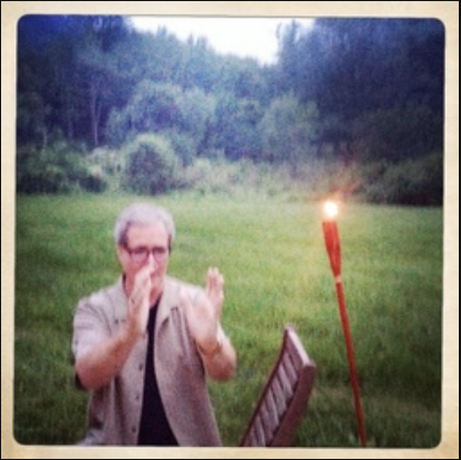 This is me, picured at Camp Now, on a Crealitation retreat in the summer of 2015. Picture by Cassidy A. Maze.