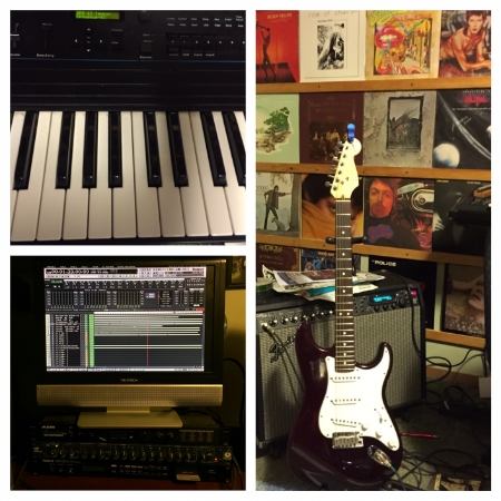 Among my current Crealitation efforts are writing and recording music