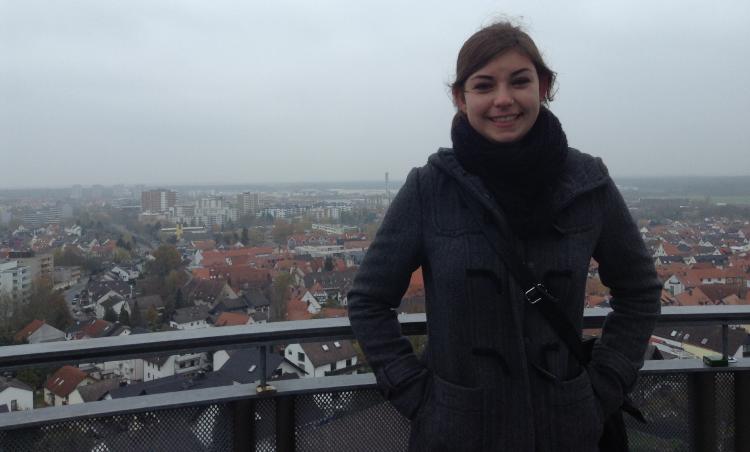 Me in Frankfurt, Germany. November 2013.