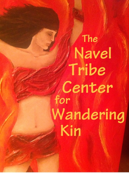 The proposed banner hanging outside each Navel Tribe Center based on artwork by Carly Zebell