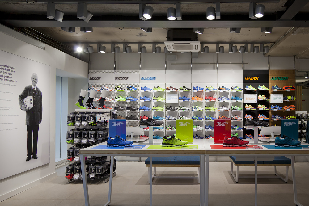 Home Of Asics Concept_Footwear