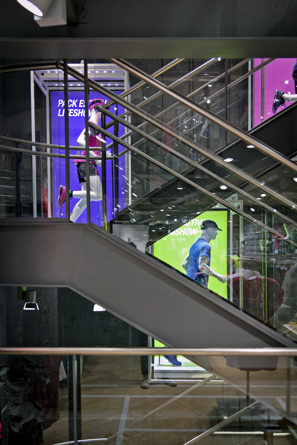 Home Of Asics Concept_Staircase